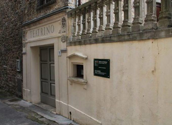 La mediavalle vanta il più piccolo teatro storico al mondo