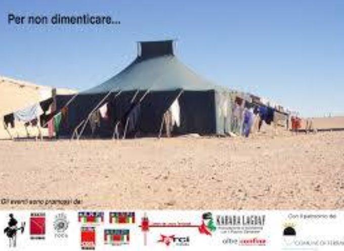 Piano di solidarietà per il SAHARAWI