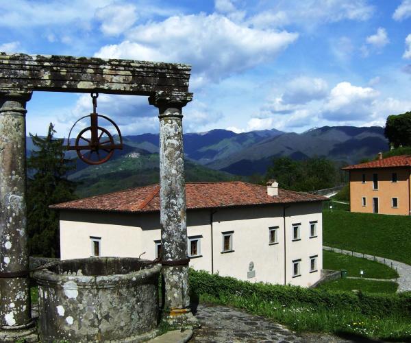 Fortezza di Monte Alfonso, il pozzo.