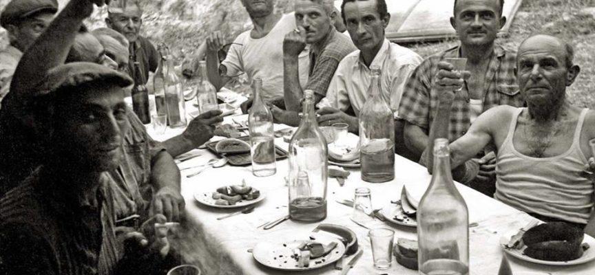 Il pranzo dei macchinisti….