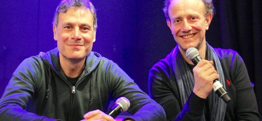 """La coppia di comici Ale & Franz ad Altopascio con """"Intervista spettacolo"""""""