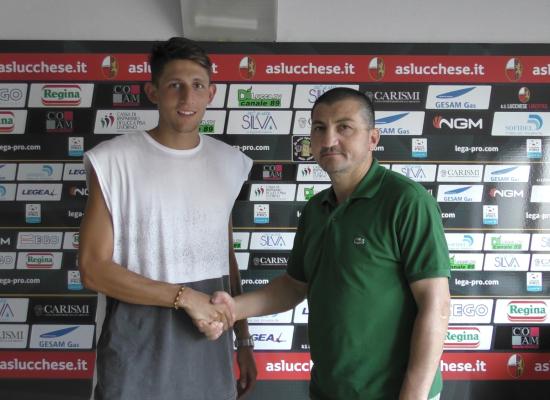 L'As Lucchese Libertas 1905 comunica di aver perfezionato l'accordo con il centrocampista Antonio Cardore