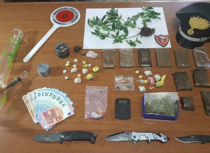 Segromigno in Monte: arresto per detenzione di sostanze stupefacenti
