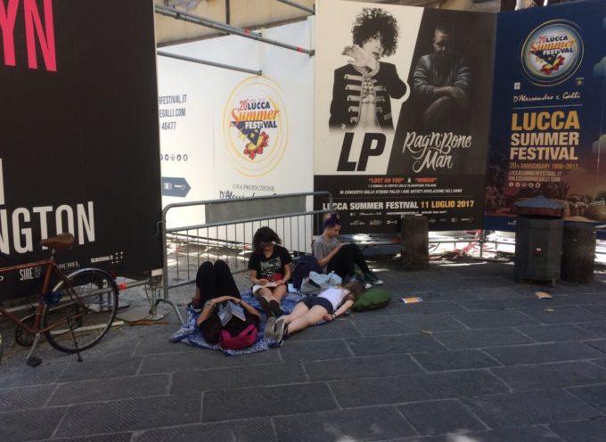 Lucca Summer Festival: si rinnova l'ordinanza che vieta le bevande alcoliche