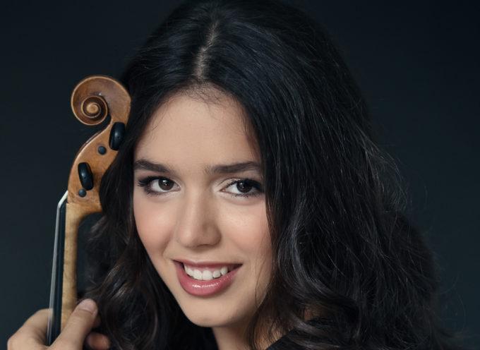 Arriva a Altopascio il concerto più atteso con il magico violino della sedicenne Lucilla Mariotti, star internazionale dello strumento.