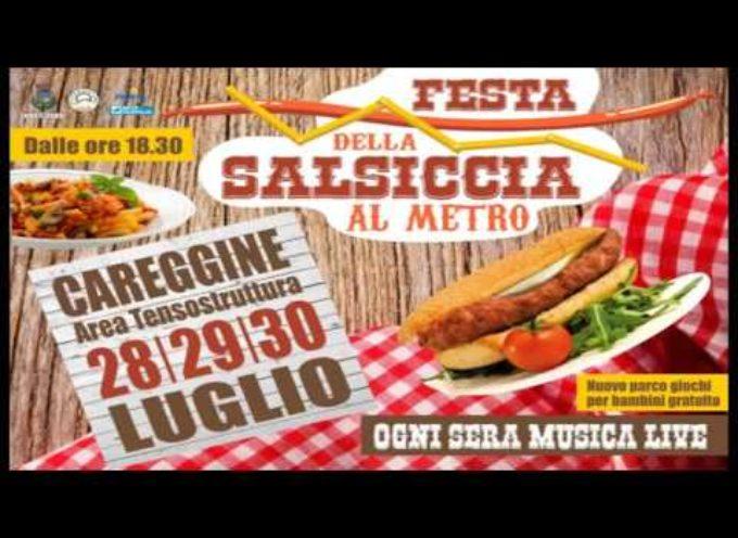CAREGGINE- LA FESTA DELLA SALSICCIA