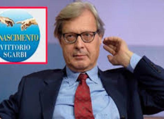 Vittorio Sgarbi avanti con Rinascimento