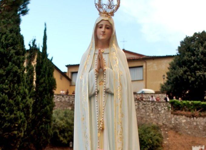 Domenica 16 luglio a Borgo a Mozzano la solenne processione per il centenario delle apparizioni di Fatima