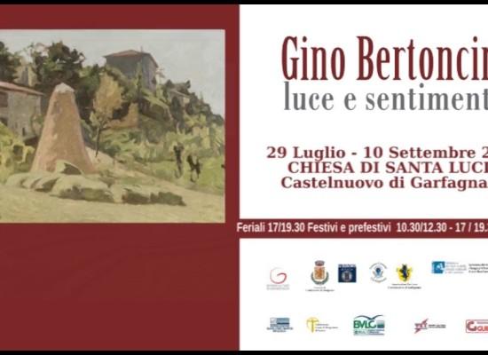 Gino Bertoncini . Luce e sentimento dal 29 Luglio al 10 Settembre 2017