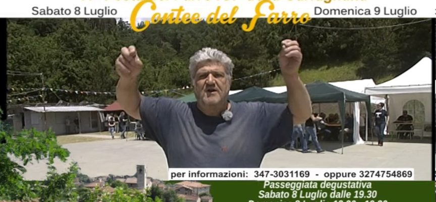 8-9 Luglio a Sant'Anastasio di Piazza al Serchio – Le contee del Farro[VIDEO]