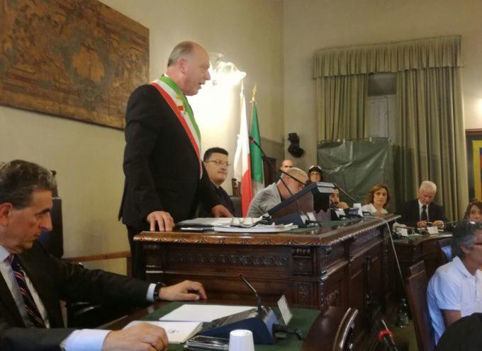 Estratto del discorso di insediamento del sindaco Alessandro Tambellini pronunciato oggi (13 luglio) in consiglio comunale.