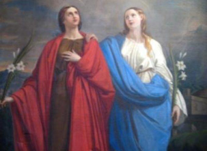 il santo del giorno, 10 luglio SANTE RUFINA E SECONDA
