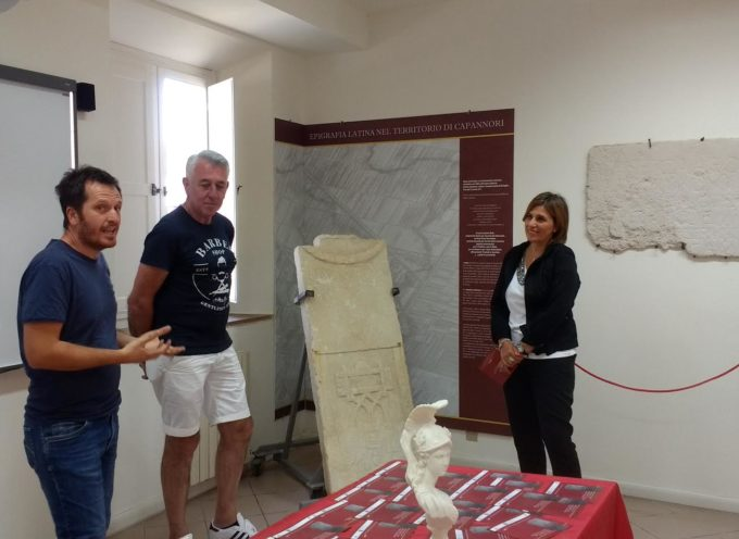 AL MUSEO ATHENA APRE UNA NUOVA SEZIONE DEDICATA ALL'EPIGRAFIA LATINA DEL TERRITORIO DI CAPANNORI