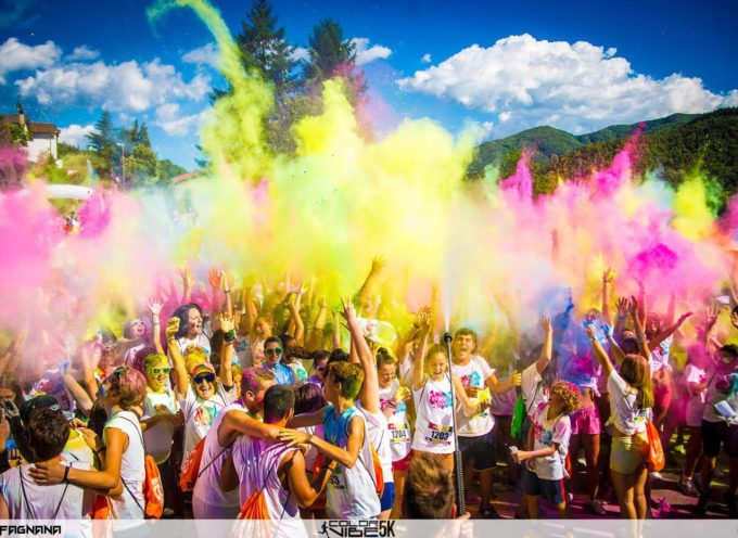 A Piazza al Serchio torna la Color Vibe, la corsa più colorata e divertente del mondo