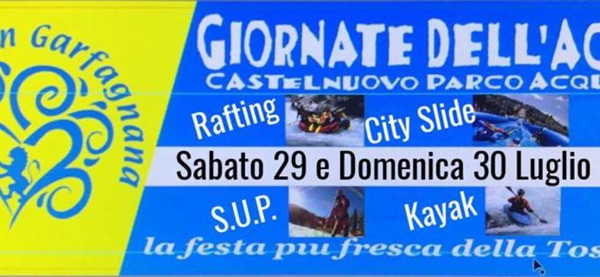 Castelnuovo di Garfagnana diventerà per 2 giorni un parco giochi acquatico.