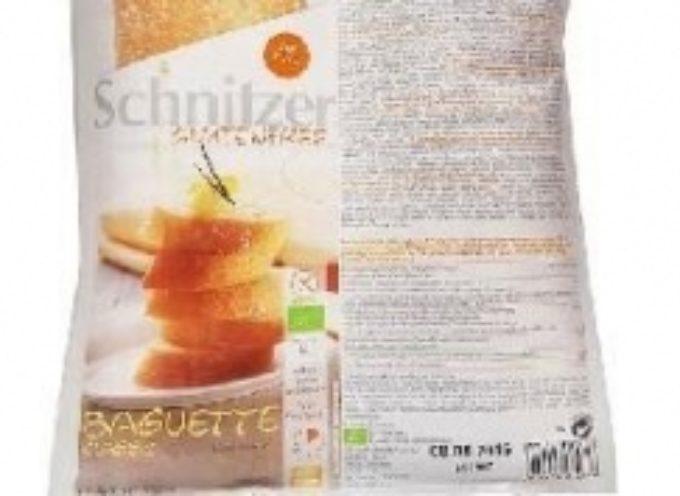 Plastica dentro il pane: Naturasì ritira baguette classica gluten free