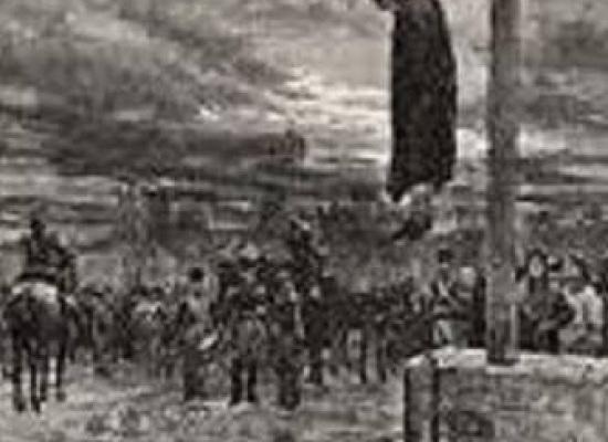 """L'ultima condanna a morte nel comune di Barga,si dice che: """"Morirono ambedue con molta disposizione e volentieri""""…"""