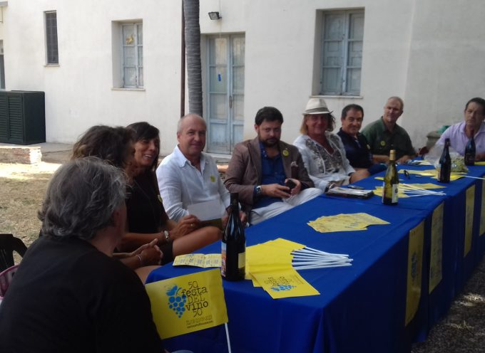 sabato presentata la 50a sagra del vino a montecarlo
