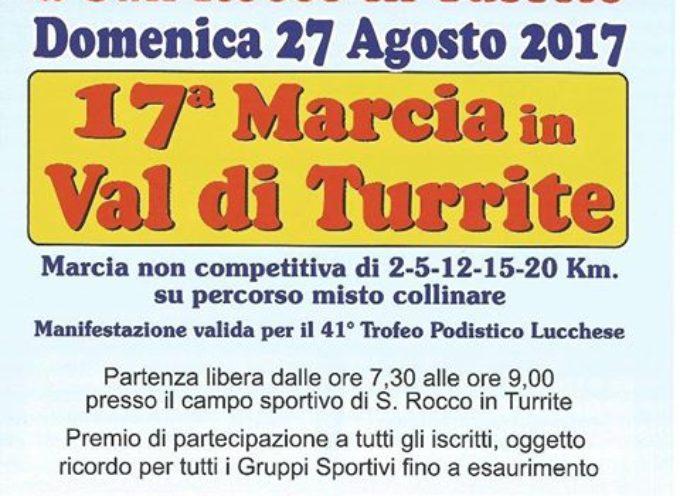 DOMENICA 27 AGOSTO – 17ª MARCIA in Val di Turrite .. San Rocco in Turrite