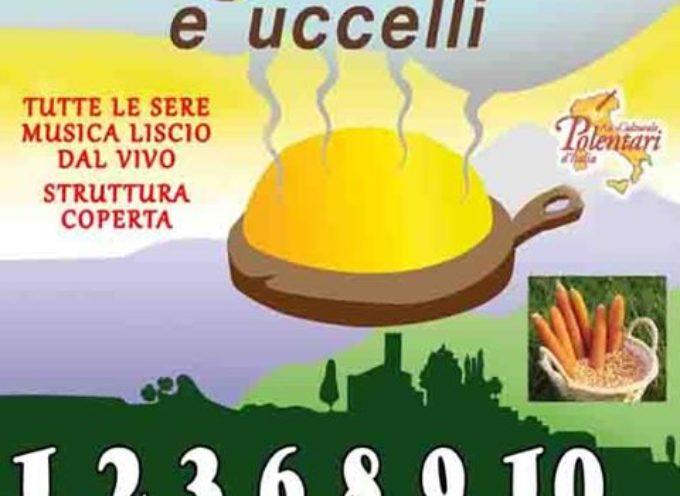 POLENTA E UCCELLI .. La tradizione di Filecchio  RITORNA ANCHE NEL 2017