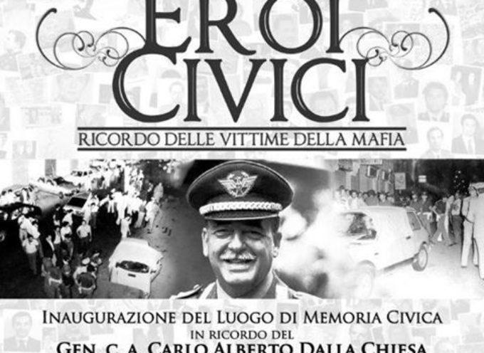 IN RICORDO delle vittime della Mafia .. A  Chifenti  SABATO 2 SETTEMBRE