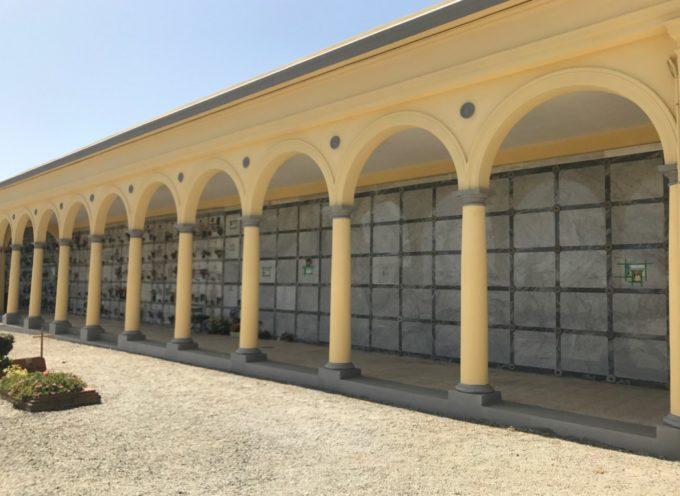 CONCLUSI I LAVORI DI RECUPERO E RESTAURO AL CIMITERO COMUNALE DI MONTECARLO