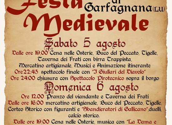 Festa Medievale Castiglione di Garfagnana 5/6 Agosto 2017