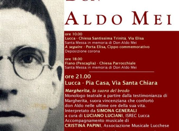 73° anniversario Don Aldo Mei – domani 3 agosto le prime iniziative
