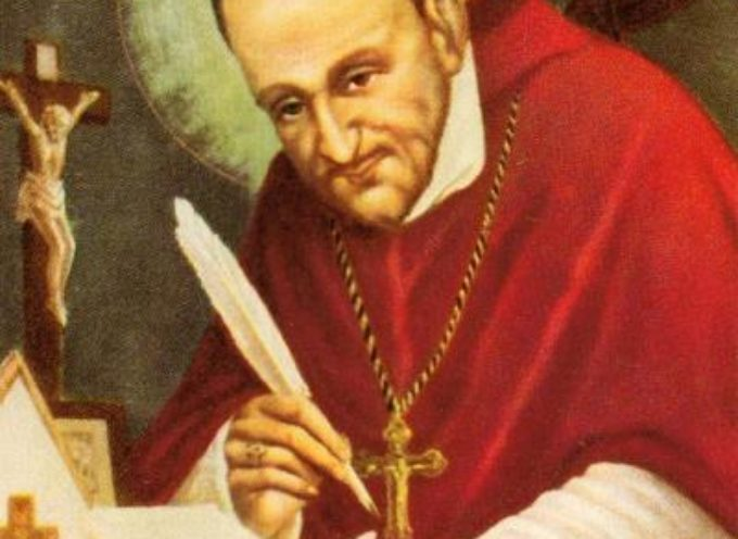 Il santo del giorno 1 Agosto: Sant' Alfonso Maria de' Liguori