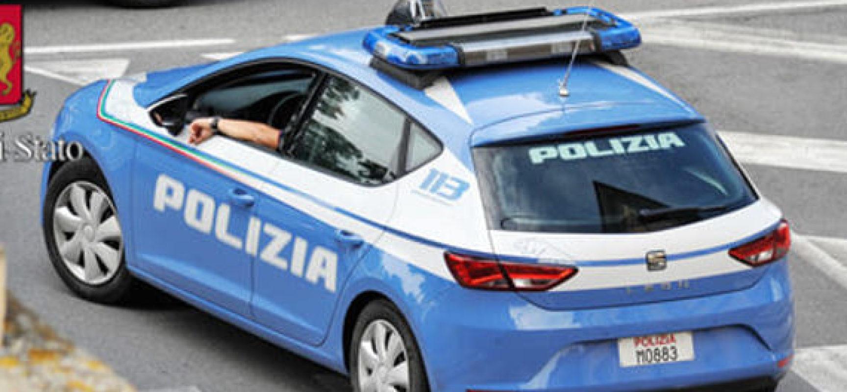 SORPRESE A RUBARE NEL CENTRO STORICO BLOCCATE DALLA POLIZIA