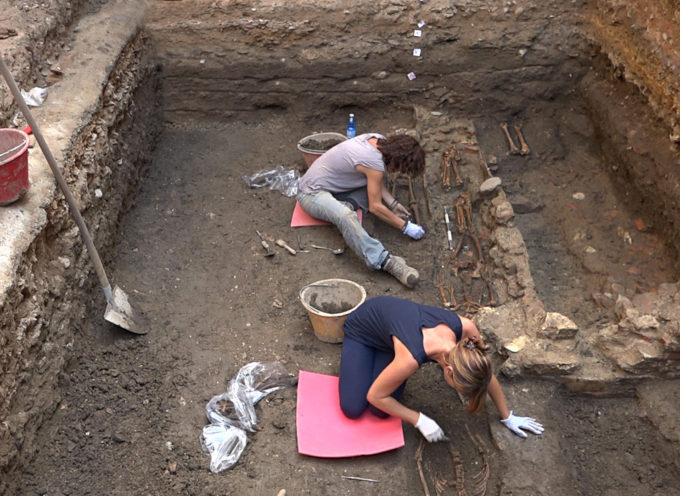 scavi in Santa Maria Corteorlandini, rinvenuto muro di epoca romana