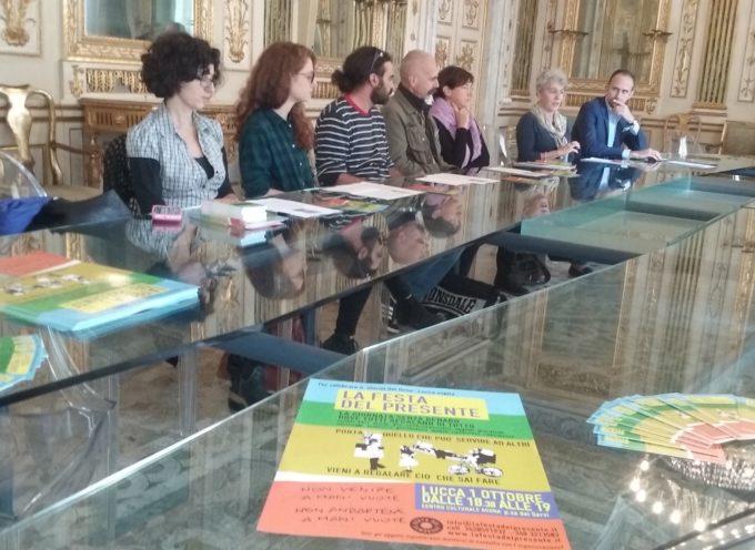 A Lucca la Festa del presente 2017, la giornata senza denaro