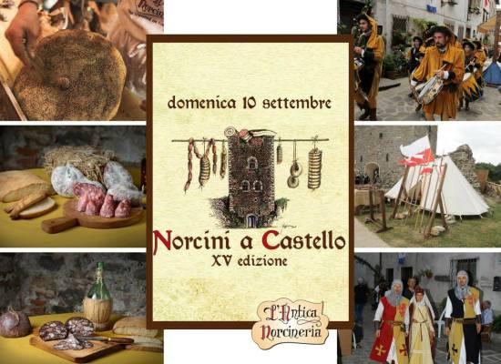 Domenica 10 SETTEMBRE tutti a Ghivizzano per la XV edizione di NORCINI A CASTELLO