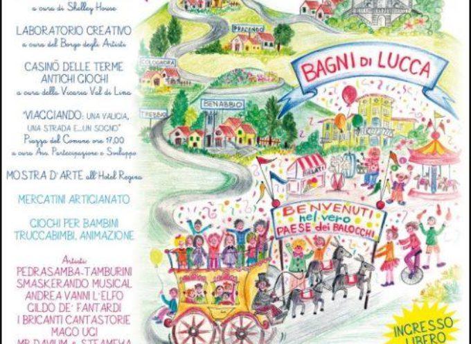IL PAESE DEI BALOCCHI .. a Bagni di Lucca  domenica 1 ottobre