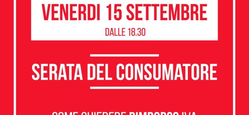 Aducons Law & Food inviata alla serata del consumatore su come recuperare i soldi dell'Iva sulla Tia da Sistema Ambiente ed Ascit