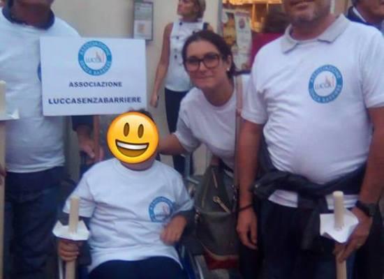 """Luccasenzabarriere alla prima esperienza della Luminara """" Difficile l'accesso a S.Martino"""""""