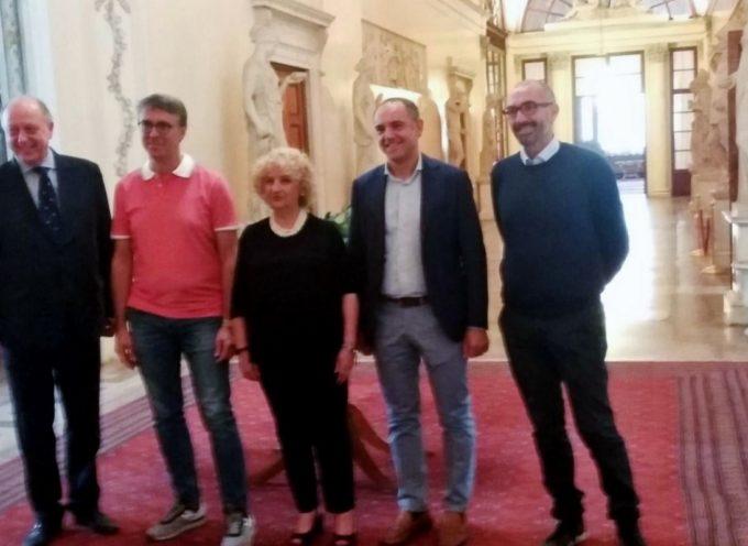 il prefetto di lucca  e il presidente della provincia incontrano Cantone e Caringella