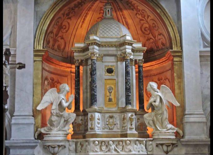 """""""Trasformazioni architettoniche in cattedrale: gli affreschi e la Cappella del Sacramento"""""""