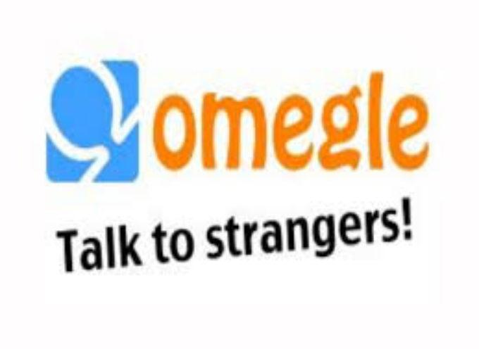 """Chat Omegle. L'invito all'attenzione sui minori da parte della Polizia Postale sull'applicazione di messaggistica a rischio di attività a """"sfondo sessuale""""."""