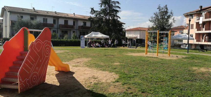 INTITOLATO A FRANCESCA PIERETTI IL PARCO-GIOCHI A MARGINONE