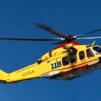 Aggiornamento: Soccorso Alpino e Pegaso 3 in azione – Sul Monte Corchia escursionista colpito alla testa da un sasso