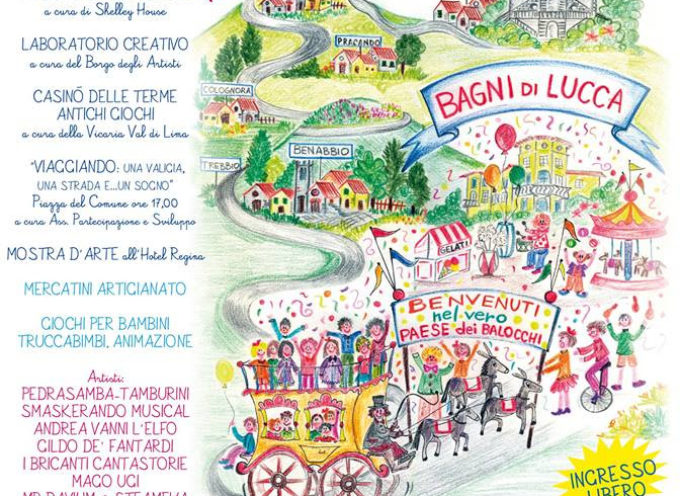 IL PAESE DE' BALOCCHI – Domenica 1 ottobre 2017 –  A Bagni di Lucca
