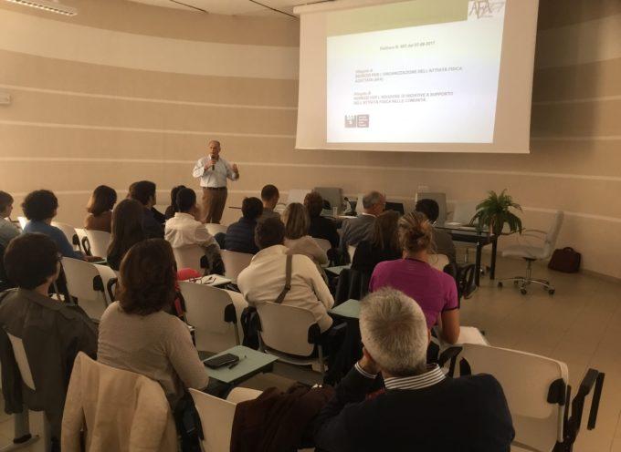 Azienda USL Toscana nord ovest: grande partecipazione al corso AFA per i provider dell'ambito territoriale di Lucca