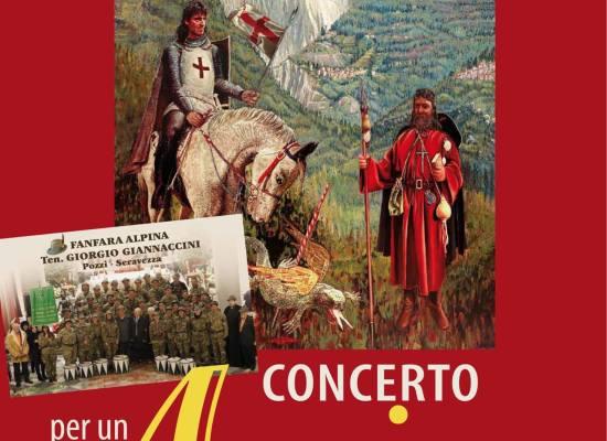 CONCERTO PER UN AMICO ALL'OMBRA DELL'ALTISSIMO: L'OMAGGIO MUSICALE DELLA FANFARA ALPINA ALLA MEMORIA