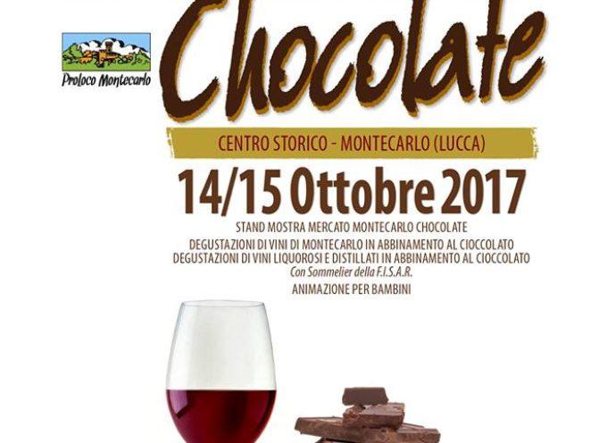 """""""XV° EDIZIONE MONTECARLO CHOCOLATE"""" SI SVOLGERA SABATO 14 E DOMENICA 15 OTTOBRE"""