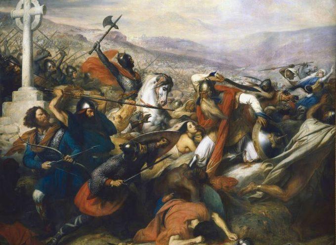 ACCADDE OGGI –  IL RE DI FRANCIA SCONFIGGE L'ARMATA DEI MORI