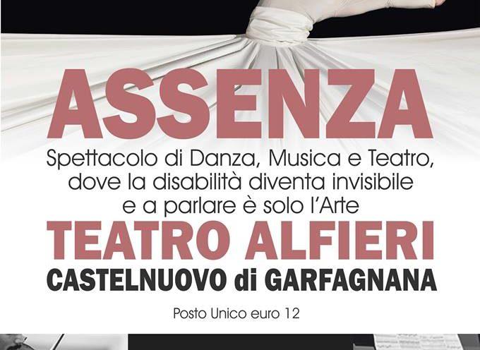 TEATRO ALFIERI  – SABATO VA IN SCENA ASSENZA SPETTACOLO DI DANZA E MUSICA