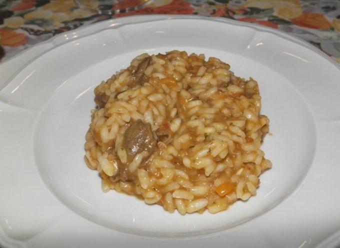 RISOTTO AL COLOMBACCIO ricetta di Giacomo Puccini