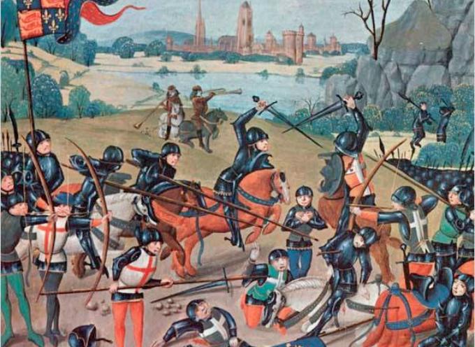 accadde oggi il 25 ottobre del 1415, i francesi furono sconfitti a azincourt