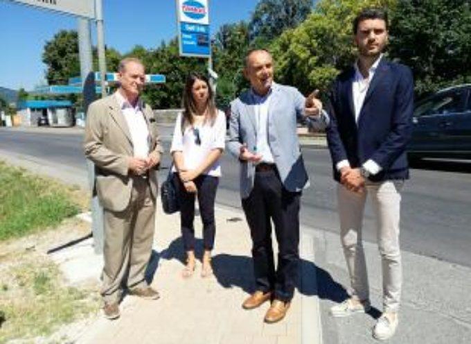 Viabilità Piana di Lucca: aggiudicati dalla Provincia i lavori per i nuovi marciapiedi sul Viale Europa a Marlia